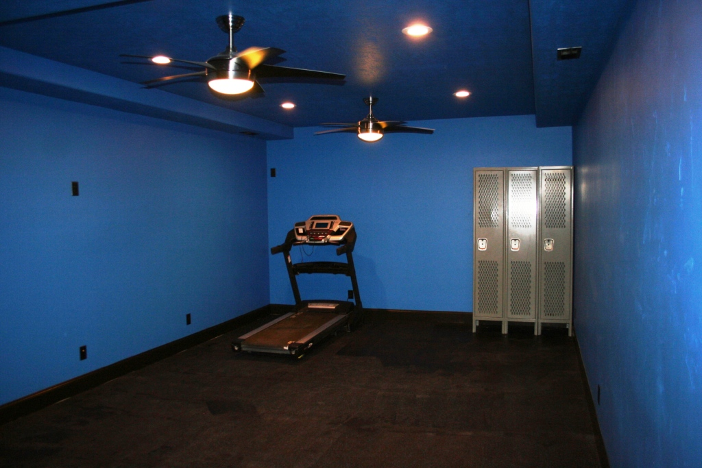 Owen work out room